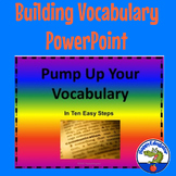 Vocabulary Builder - Pump Up Your Vocabulary