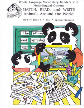 Vocabulary Builders: Animals & Their Environments Around the World
