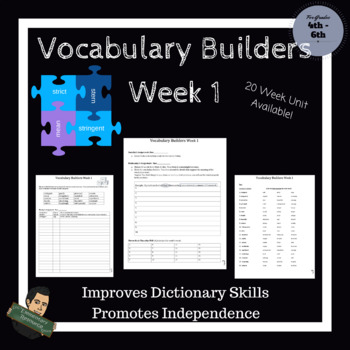 Vocabulary Builders Skills (Tests Included)