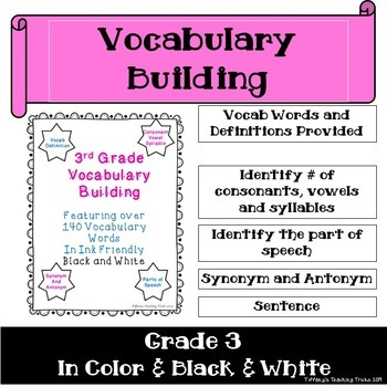 Vocabulary Building