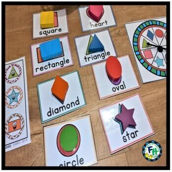 Vocabulary Building 4 Preschool GROWING BUNDLE