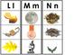 Vocabulary Building Alphabet Strips