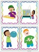 ESL Activity: Verb Vocabulary and Conversation Cards- ELL