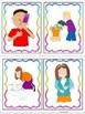 ESL Activity: Verb Vocabulary and Conversation Cards- ELL