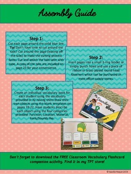 Vocabulary Building: Classroom Objects
