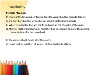 Vocabulary Building - Powerpoint 4