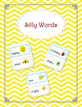 Vocabulary Building Silly Words