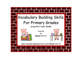 Vocabulary Building Skills for Primary Grades