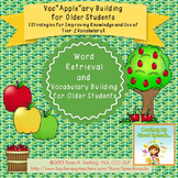 Vocabulary Building for Older Students {Strategies for Improving Vocabulary}
