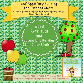 Vocabulary Building for Older Students {Strategies for Imp