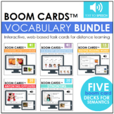 Vocabulary Bundle BOOM CARDS™ | Digital Task Cards | Dista