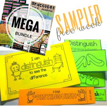 Vocabulary Bundle Sampler FREE WEEK