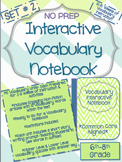 Vocabulary-Bundle-Set 2-5 Groups of Activities and Assessments