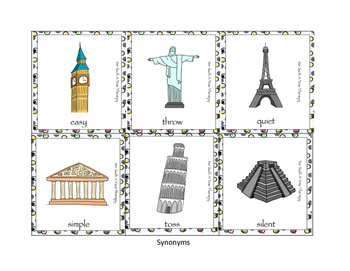 Travel: Themed Vocabulary Bundle and Game Board Set