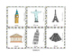 Vocabulary Bundle: Travel Themed Game Board Set
