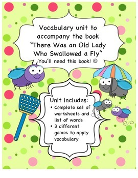 Vocabulary Games 1st and 2nd grade