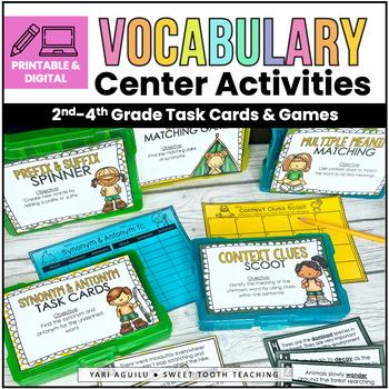 Vocabulary Camp Task Cards