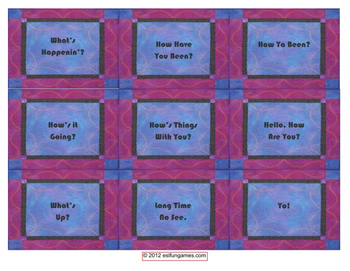 Vocabulary Card Games Pack 1 Game Bundle