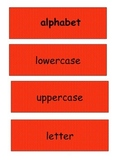 Vocabulary Cards