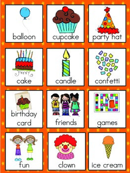 Vocabulary Cards Bundle