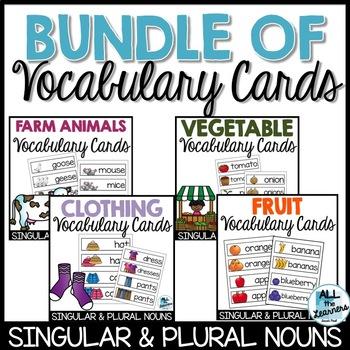 Vocabulary Cards Bundle