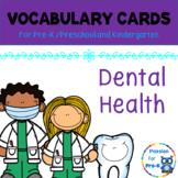 Vocabulary-Word Wall Cards - Dental Health