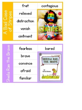 EDITABLE Vocabulary Cards- (Grade 2) Rooted in Reading Supplement