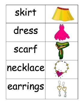 Vocabulary Cards Pocket Chart Station