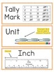Vocabulary Cards for 2nd Grade Envision Math Topics 13-16