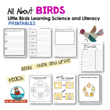 All About Birds | Primary Readers & Writers | Distance Learning | School At Home