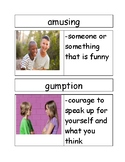Vocabulary Cards for Edward the Emu by Sheena Knowles (Text Talk Book 2, Set A)