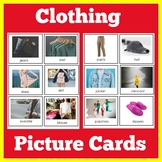 ESL Vocabulary Cards for English Learners | Clothing