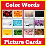 ESL Vocabulary Cards for English Learners | Colors