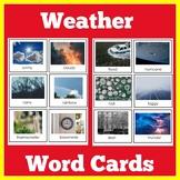 Weather   Preschool Kindergarten   Picture Cards   Activit