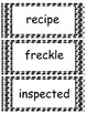 Vocabulary Cards for Freckle Juice by Judy Blume