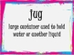 Vocabulary Cards for Houghton Mifflin Reading Series Theme 2