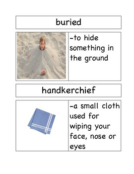 Vocabulary Cards for Owen by Kevin Henkes