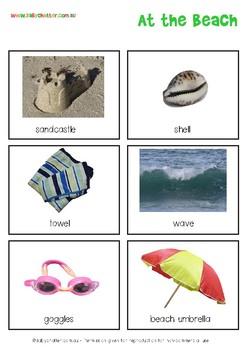 Vocabulary Cards for SLPs