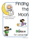 Vocabulary Cards for Science Moon Unit