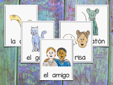 Vocabulary Cards for Spanish Syllables - CGR ~ Banco de Palabras - Sílabas