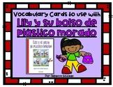 Vocabulary Cards to use with Lily y su bolso de plástico m