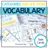 Category Skill Drill Cards:  Vocabulary:  Label, Sort, Cla