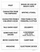 Vocabulary Categories FREE Activity for ANY Subject, Even Math!