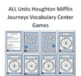 Vocabulary Center ALL Units  HM Journeys Florida 4th Grade