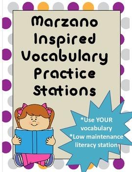 Vocabulary Centers