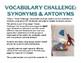 Vocabulary Challenge: Synonyms & Antonyms #6-10 Pack
