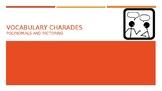 Vocabulary Charades - Polynomials and Factoring