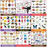Vocabulary Chart Bundle