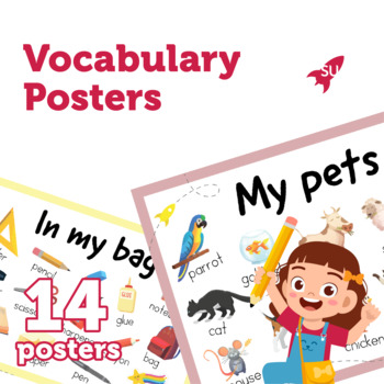 Vocabulary Classroom Posters