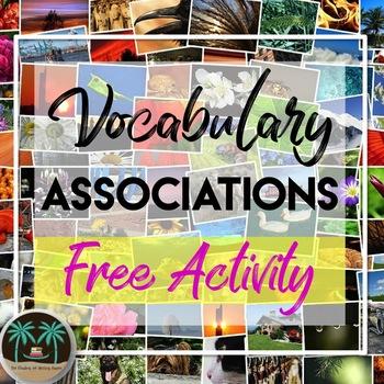 Vocabulary Associations Activity for Any Vocab List